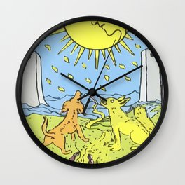 18 - The Moon Wall Clock