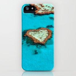 Heart Coral Reef - Queensland, Australia iPhone Case