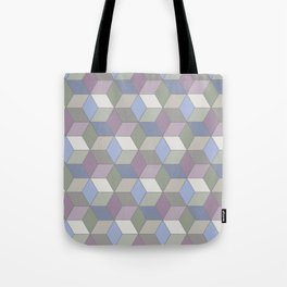 Cool Pastel Diamonds Tote Bag