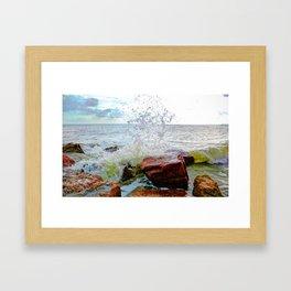 Texas Gulf Coast Framed Art Print