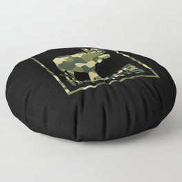 Camo Moose Floor Pillow