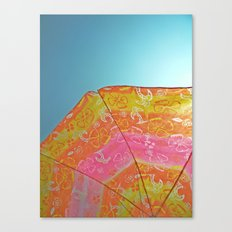 Sunny Umbrella  Canvas Print