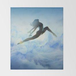 Dancer's Leap Throw Blanket