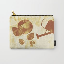 Water is Life-Earth Day 3 Carry-All Pouch