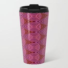 Op Art 110 Metal Travel Mug
