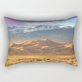 Deer and the Dunes Rectangular Pillow