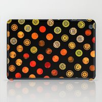 drum iPad Cases featuring Fire Drum by M.D. Becker