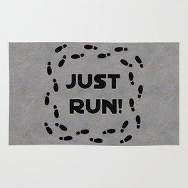 Just Run! Rug