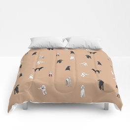 Oodles of Poodles Comforters