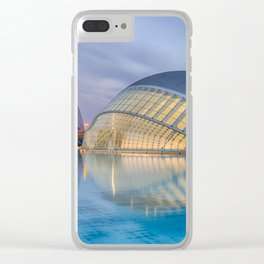 CALATRAVA | architect ARCHITECTURE | City of Arts and Sciences III Clear iPhone Case