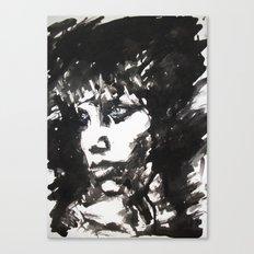 Retrato/Face Canvas Print