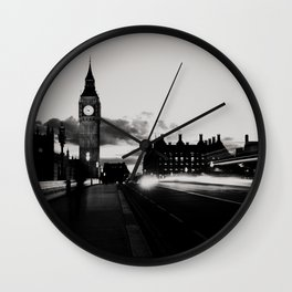 London noir ...  Wall Clock
