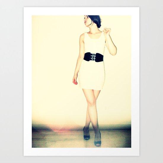 Dress Art Print