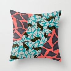 RAGAR+ORIX Throw Pillow