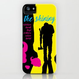 THE FILMS OF KUBRICK :: THE SHINING iPhone Case