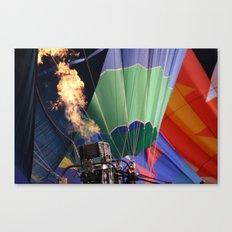 Balloon rise Canvas Print