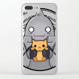 Alphonse Elric the Cathemist Clear iPhone Case