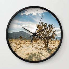 The Joshua Tree Wall Clock