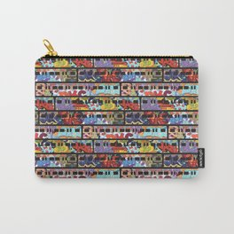 Painted Trains Carry-All Pouch