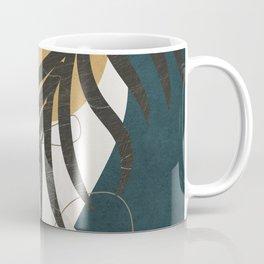 Abstract Tropical Art II Coffee Mug