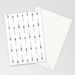 Painted Paddle Pattern Stationery Cards
