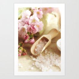 Almond Blossom Design Art Print