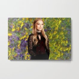 Portrait of Daisy Coleman ;  Victims Rights Advocate; Boycott Maryville Metal Print
