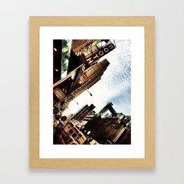 New York by iPhone 5 Framed Art Print