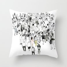All We Have Is Now Throw Pillow