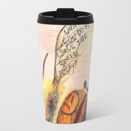 TAGGED(in color): Honey Bee Travel Mug