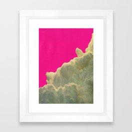 collage Collaboration with Hugo Barros Framed Art Print
