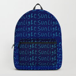sunlight 2-day,sun,positive,good,sol,dia,glow,brillar,sunlight,gleam Backpack