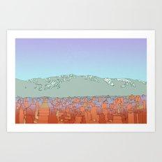 Muteland Art Print