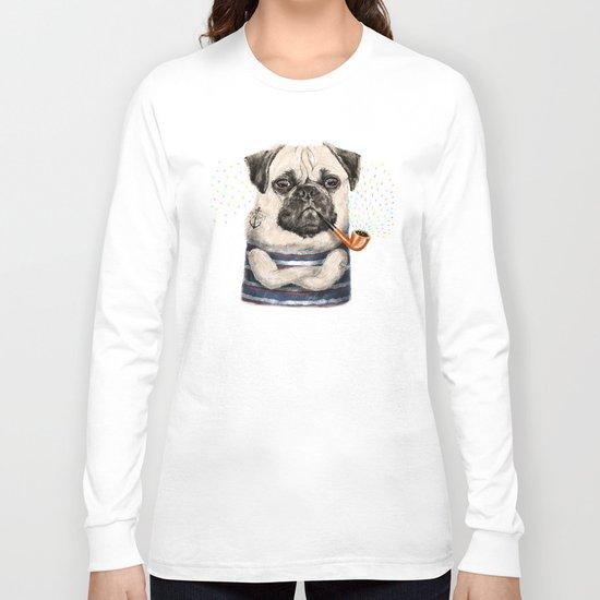 Mr.Pug Long Sleeve T-shirt
