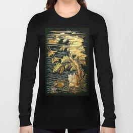 Oriental Landscape Long Sleeve T-shirt