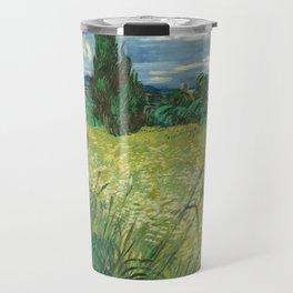 Vincent Van Gogh - Green Field Travel Mug