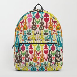 ivory love ikat Backpack