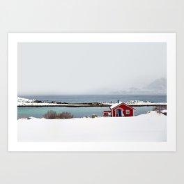 Winterly solitude Art Print