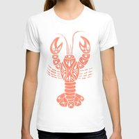 lobster T-shirts featuring Lobster by NoelleGobbi