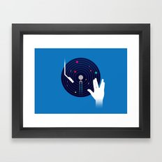 Star Tracks Framed Art Print