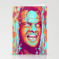the shining Stationery Cards featuring Shining by Retkikosmos