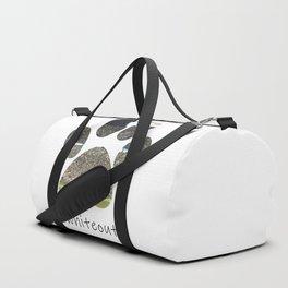 #whiteout Duffle Bag