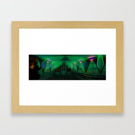 A Tale of Two Bridges  Framed Art Print