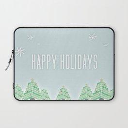 Happy Holiday Trees Laptop Sleeve