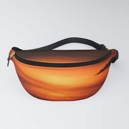 Sunset Through the Clouds Fanny Pack