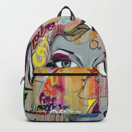 Scary Posh Spice Backpack