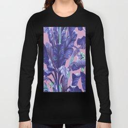 Banana Leaf love Long Sleeve T-shirt