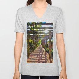 Grape Arbor Unisex V-Neck