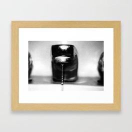 Drop Progression Framed Art Print