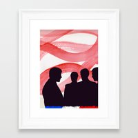 godard Framed Art Prints featuring Godard  by John Murphy